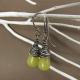 Citrusy Serpentine Drop Earrings
