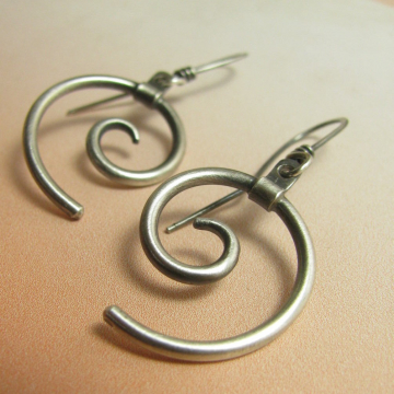 spirals contemporary earrings photo 1